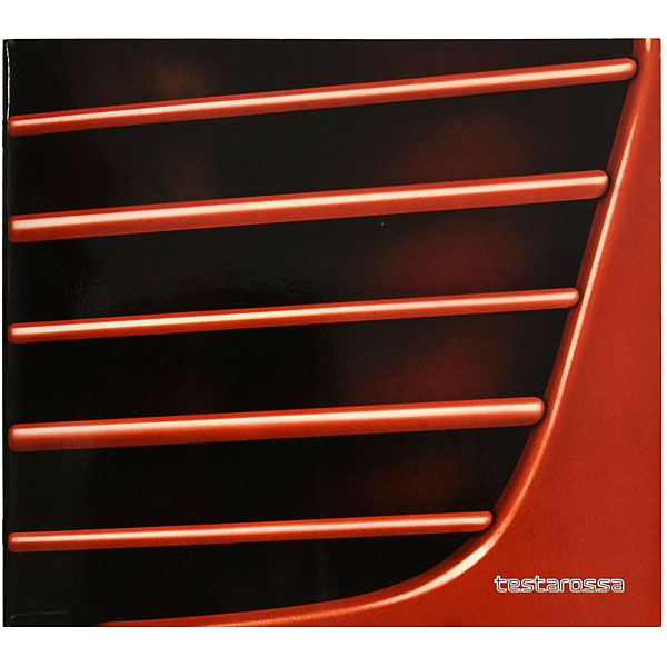 Ferrari Testarossa Sales Catalogue