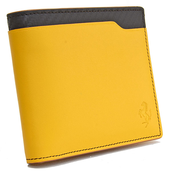 Ferrari Leather Wallet(Yellow)by TODS