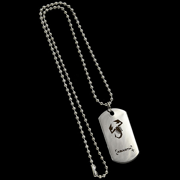 ABARTH Dog Tag Necklace