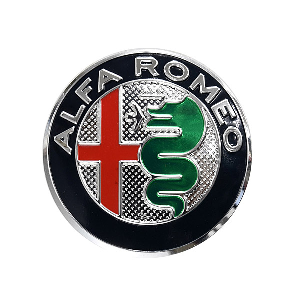 Alfa Romeo New Emblem Aluminium Plate(Color/40mm)