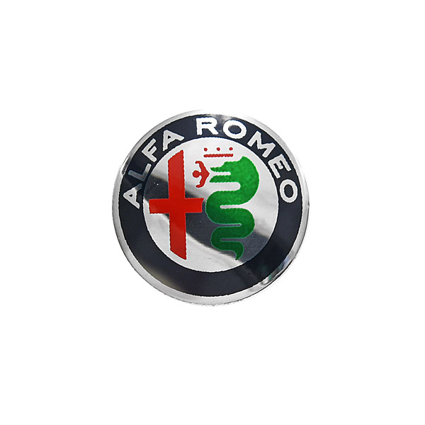 Alfa Romeo New Emblem Aluminium Plate(Color/15mm)