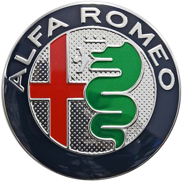 Alfa Romeo New Aluminium Emblem(Color)