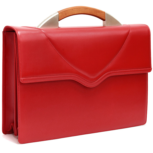 Alfa Romeo Leather briefcase(Red)