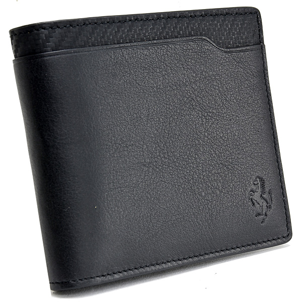 Ferrari Leather Wallet(Black) by TODS