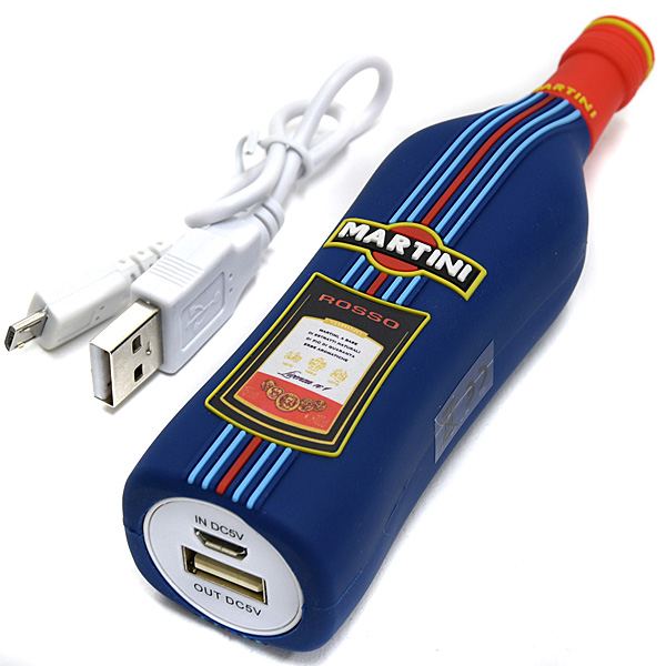 MARTINI Official Bottle Shaped Mobile Battery
