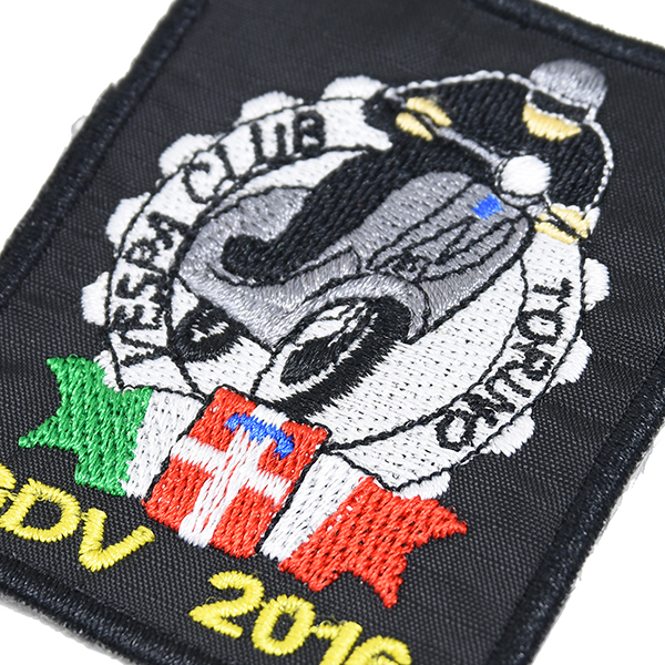 Vespa Club Torino Patch-GDV 2016-
