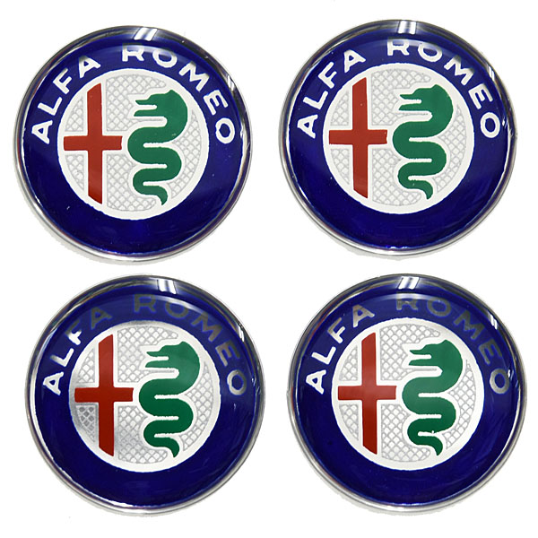 Alfa Romeo New Emblem 3D Stickers Set(21mm/4pcs.)