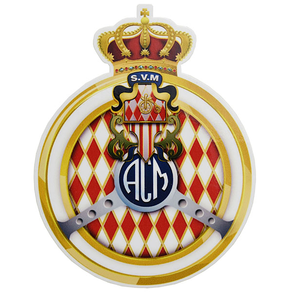 AUTOMOBILE CLUB DE MONACOステッカー