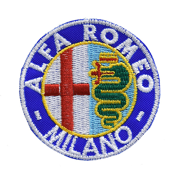 Alfa Romeo MILANO Emblem Patch(65mm)