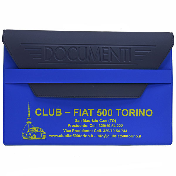 CLUB FIAT 500 TORINO Document Case