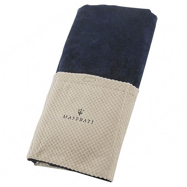 MASERATI Deckchair Towel(Navy)