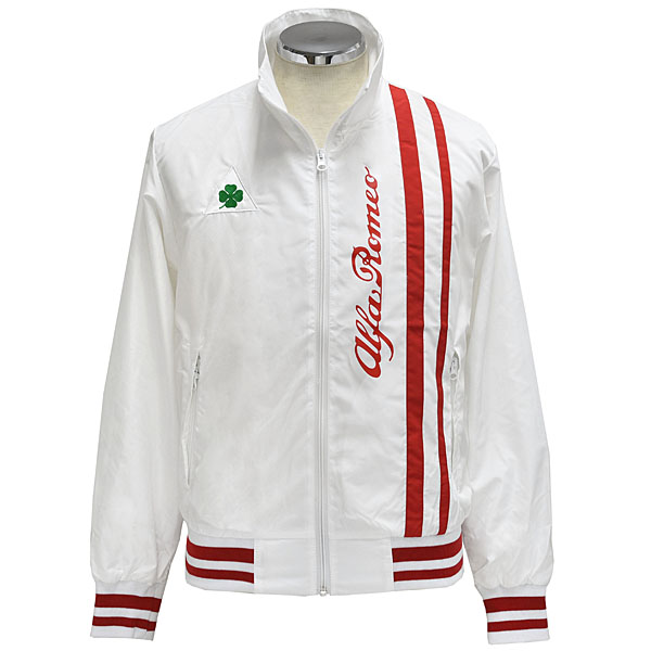 Alfa Romeo QUADRIFOGLIO Light Jacket(White/UNISEX)<br><font size=-1 color=red>09/20到着</font>