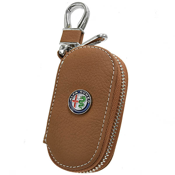Alfa Romeo Key Case(Brown)