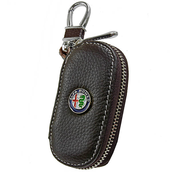 Alfa Romeo Key Case(Dark Brown)
