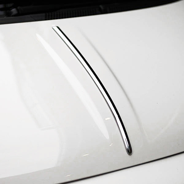 FIAT 500 Bonnet Chrome Trim