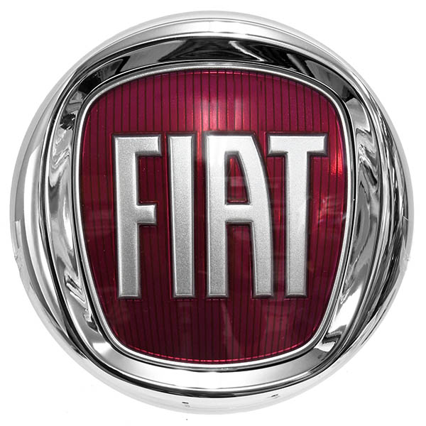 FIAT純正エンブレム(フロント用/95mm)<br><font size=-1 color=red>11/13到着</font>
