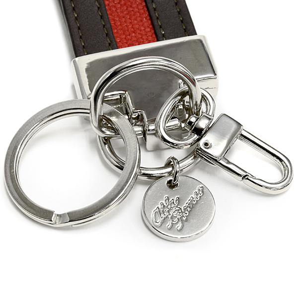 alfa Romeo Hand-Made Leather Keyring