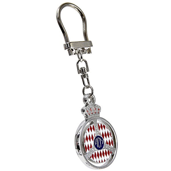 AUTOMOBILE CLUB DE MONACO Official Keyring(Silver)