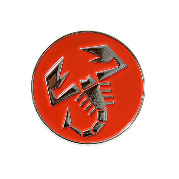 ABARTH Round Scorpione Pin Badge