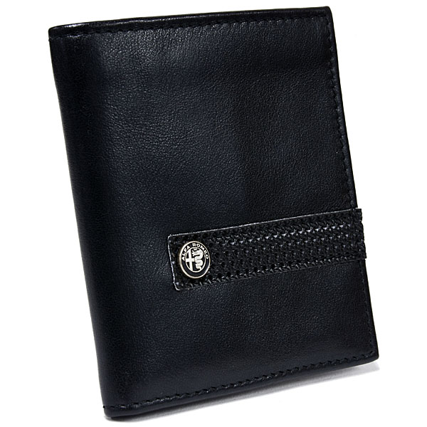 Alfa Romeo New Emblem Leather Wallet<br><font size=-1 color=red>11/15到着</font>