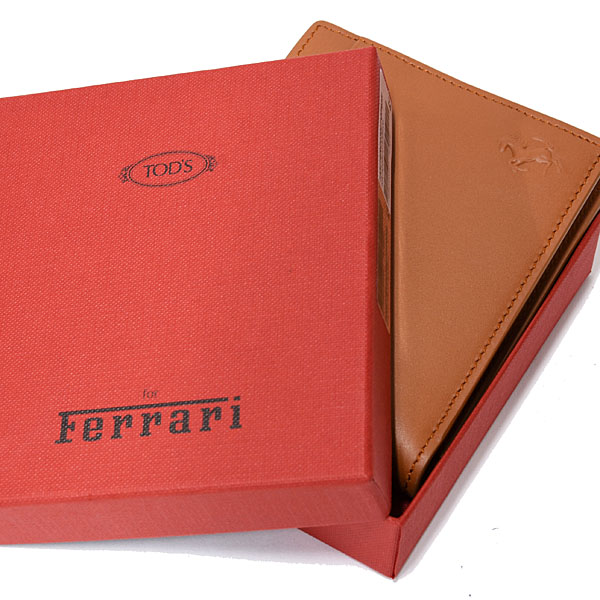 Ferrari Leather Wallet(Brown) by TODS