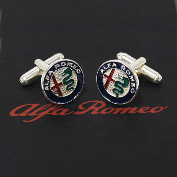 Alfa Romeo New Emblem Cuffs(Color Emblem)