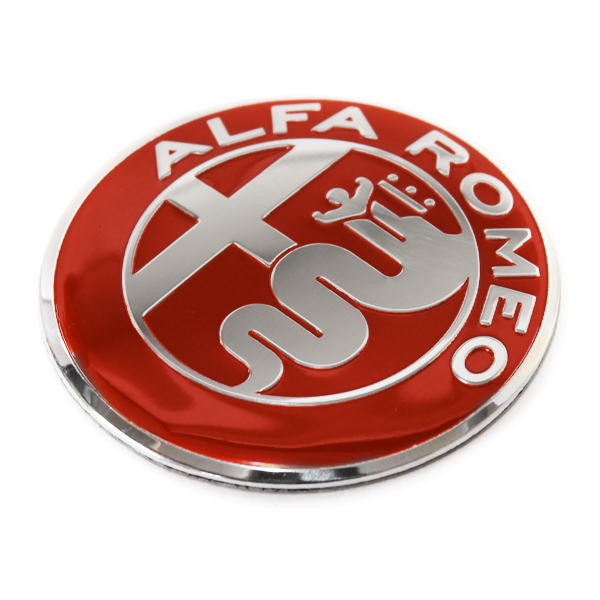 Alfa Rp,ep New Emblem Plate(Red/40mm)