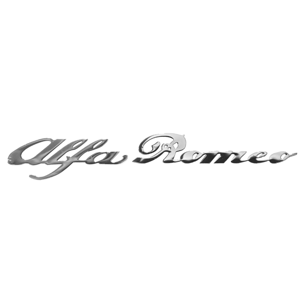 Alfa Romeo Logo Sticker(Chrome)