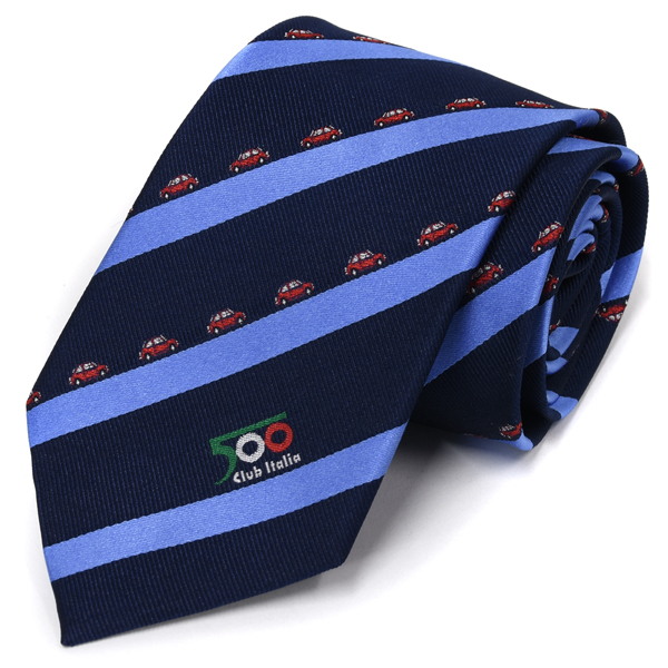 FIAT 500 Club ITALIA Neck Tie(stripe)<br><font size=-1 color=red>02/09到着</font>