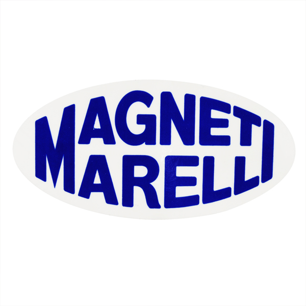 MAGNETI MARELLI Oval Shaped Sticker