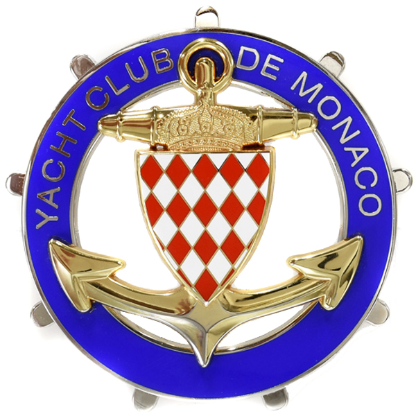 Yacht Club de Monaco Emblem for member