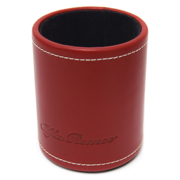 Alfa Romeo Leather Pen Stand<br><font size=-1 color=red>11/14到着</font>