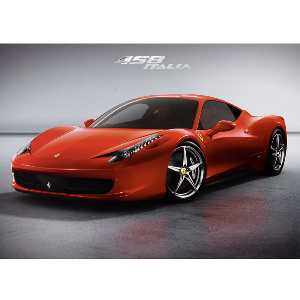 Ferrari 458 ITALIA Promotion Card