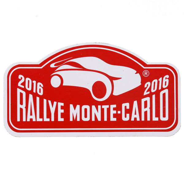 Rally Monte Carlo 2016 Official Sticker