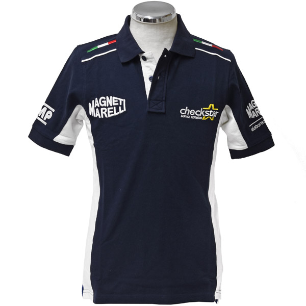 MAGNETI MARELLI Polo Shirts-Checkstar- by OMP