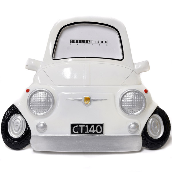 FIAT 500 Photo Frame(White)