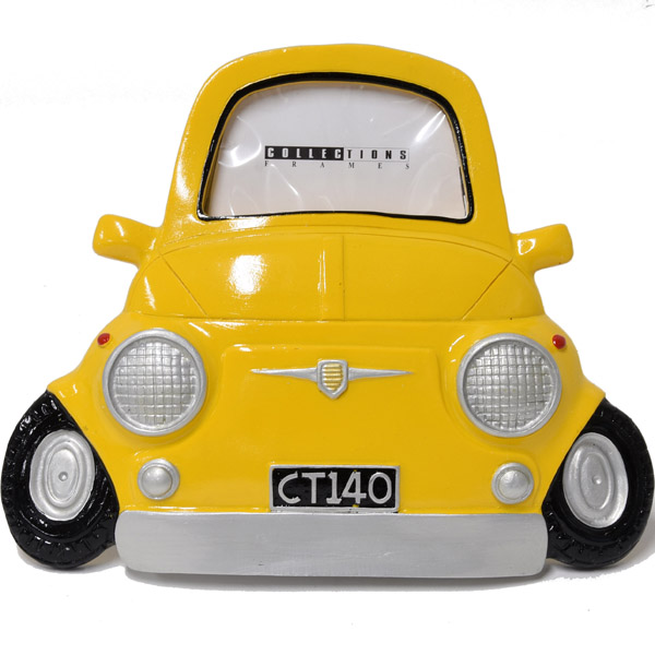 FIAT 500 Photo Frame(Yellow)