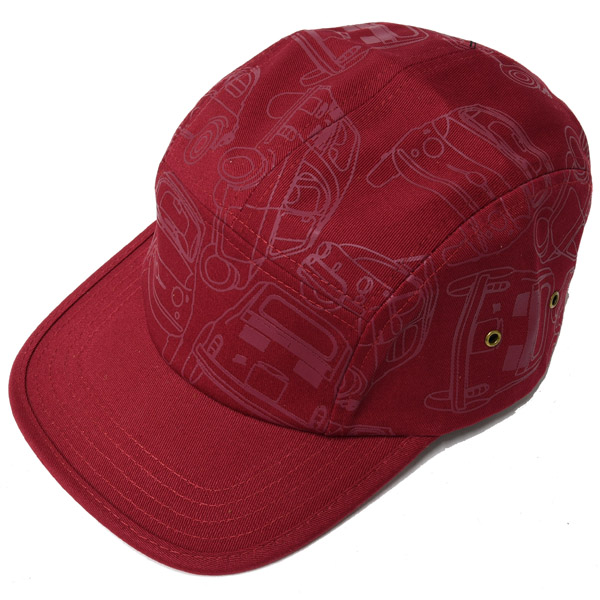 FIAT Nuova 500 Baseball Cap(Red)