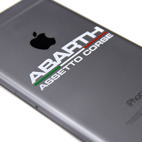 ABARTH ASSETTO CORSE Logo Sticker (Die Cut/XS)