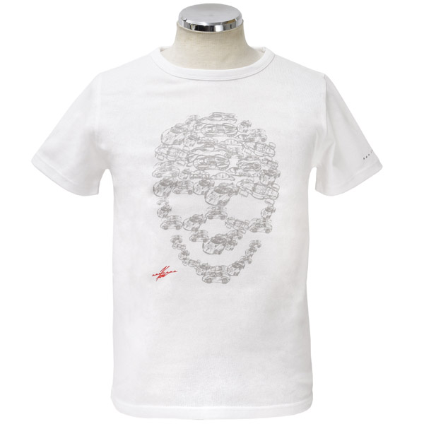 KEN OKUYAMA DESIGN Original T-shirts (Skull) white