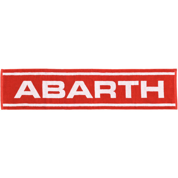 ABARTH Muffler Towel-Stripe & Logo-
