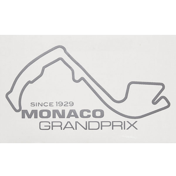 MONACO Grand Prix Official Sticker(Silver)