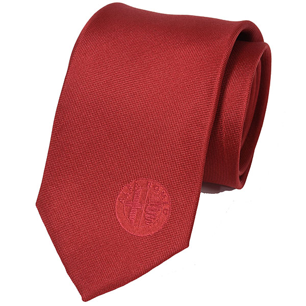 Alfa Romeo Silk Neck Tie(Red)