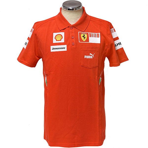 Scuderia Ferrari 2008 Team Staff Polo(Late Version)