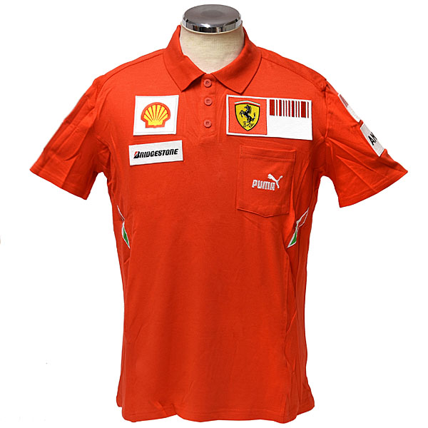 Scuderia Ferrari 2008 Team Staff Polo(2008 Early Version)