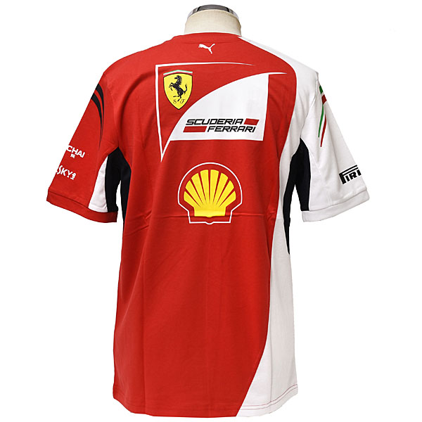 Scuderia Ferrari 2014 Team Staff T-Shirts