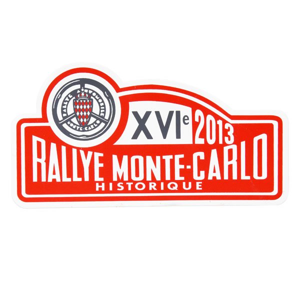 Rally Monte Carlo Historique 2013 Official Sticker