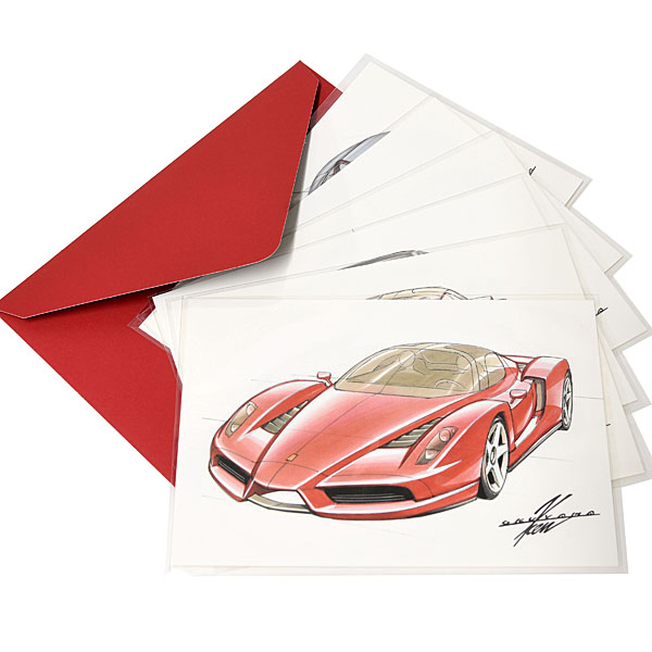 KEN OKUYAMA DESIGN Original Post Card Set(6pcs.) Type A