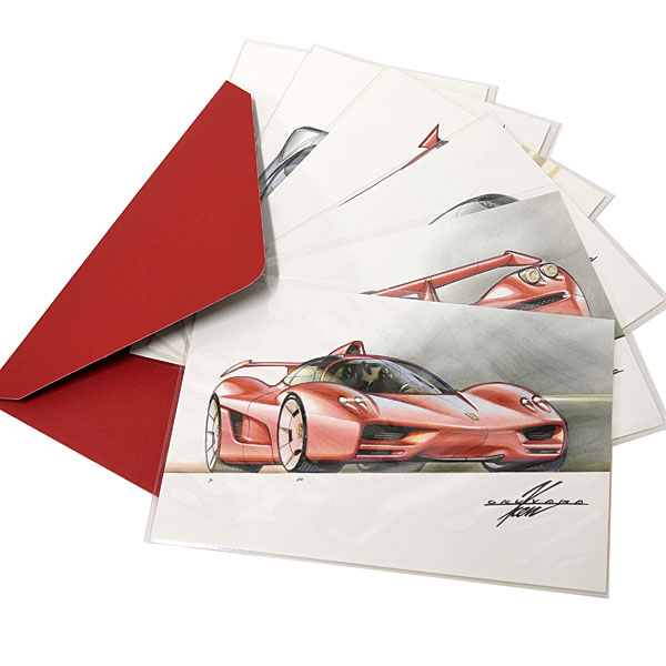 KEN OKUYAMA DESIGN Post Card Set(6pcs.) Type B