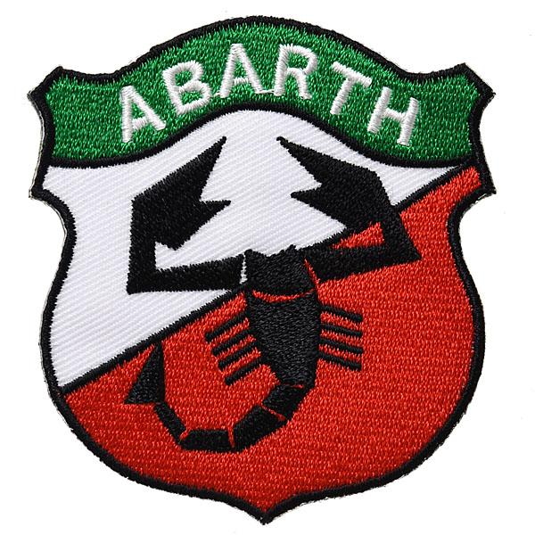 ABARTH Old Emblem Tach (White/Red)